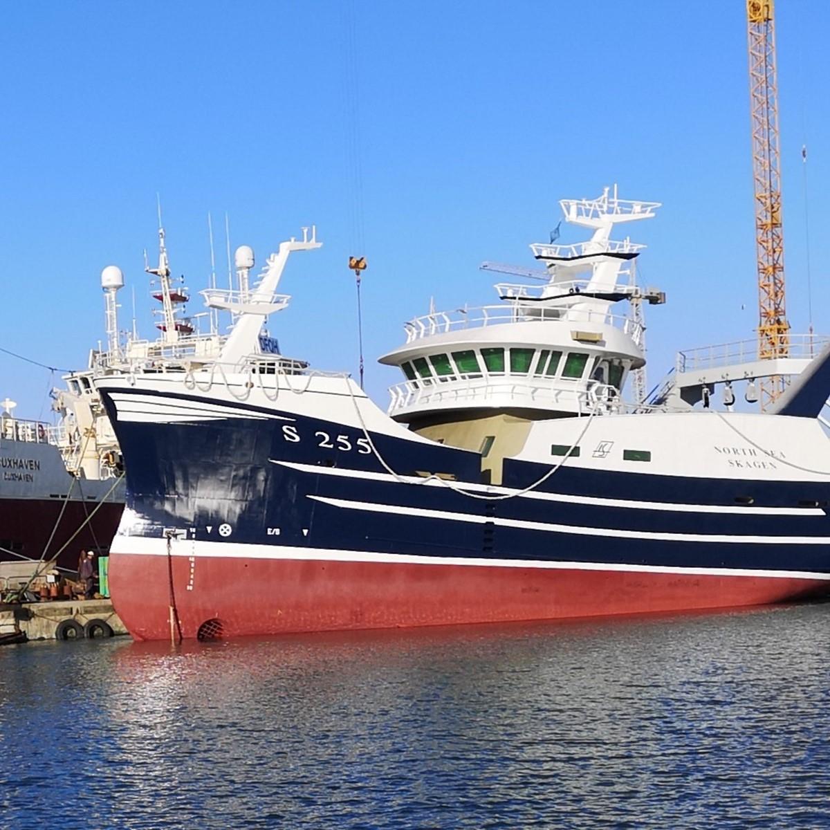 S 255 North Sea er kommet til Skagen-...